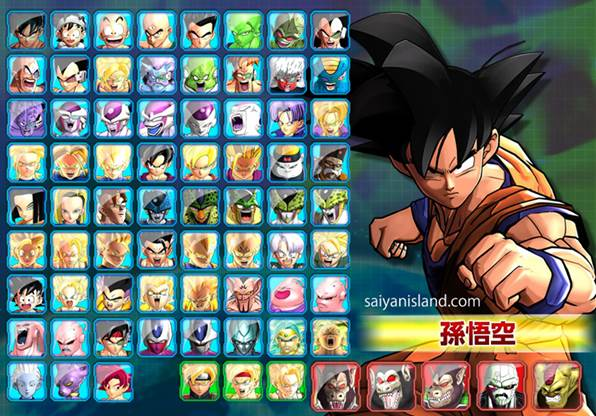 Dragon-Ball-Z-Battle-of-Z-Characters